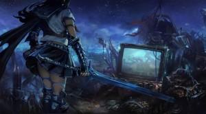 Una delle atmosfere che vogliamo trasmettere è lo scontro tra fantasy classico e tecnologia moderna, tipico di molti jrpg.
