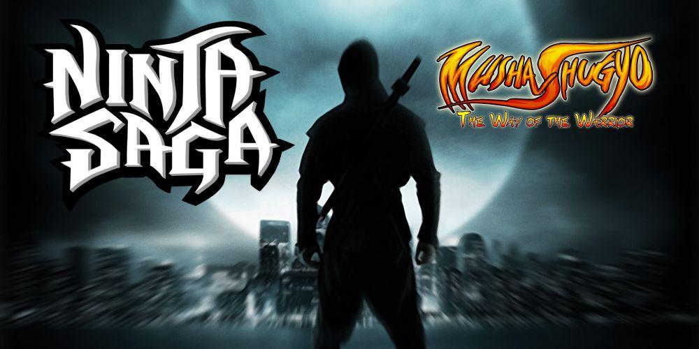 Musha_Shugyo_Ninja_Saga_Header