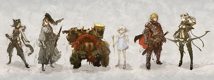 Moltissime classi saranno disponibili per i vostri personaggi, in accordo con la tradizione jrpg.