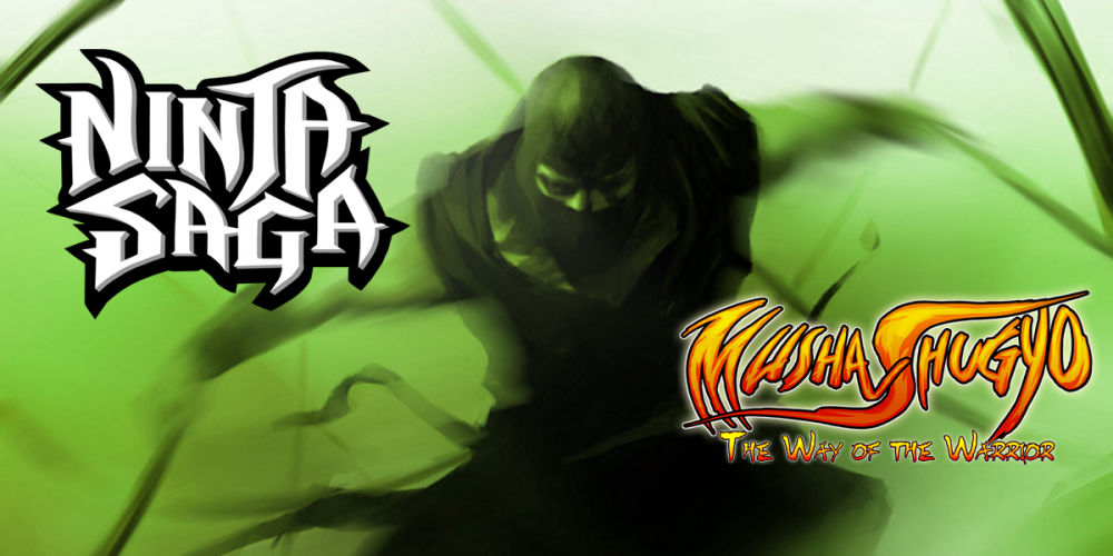 Musha_Shugyo_Ninja_Saga_green_ninja