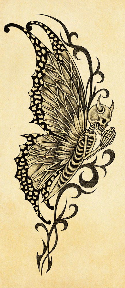 PNG insetti demoniaci