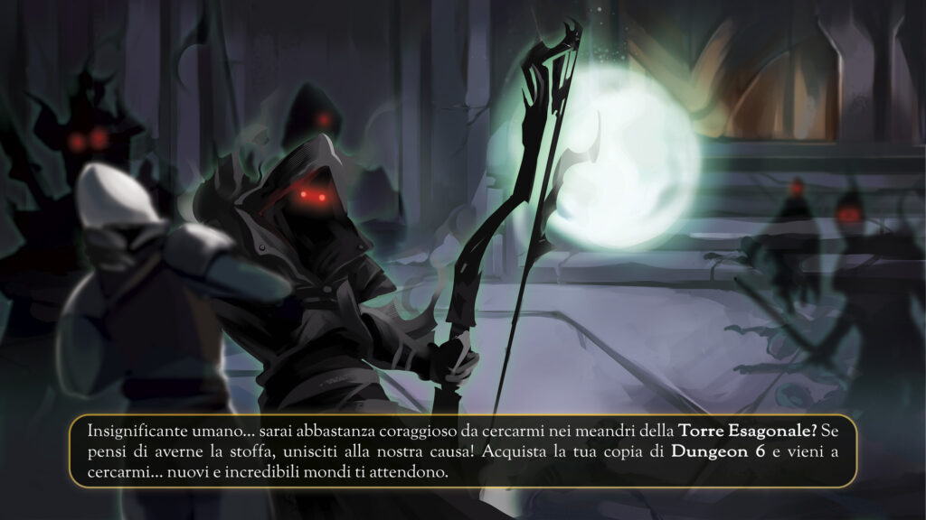 Dungeon 6: acquista la tua copia!